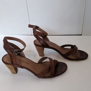 EUC Lucky Brand LP Parcia Sandals